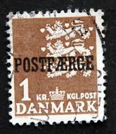 Denmark 1967 POSTFÆRGE Minr.34 I    (o )( Lot  G 1206 ) - Paketmarken