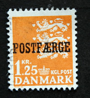 Danmark 1965 MiNr.40  (O) (parti G 1182) - Paketmarken