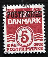 Denmark 1942  Parcel Post (POSTFÆRGE).   Minr.25 Type I  (O )  ( Lot  G 1197 ) - Paketmarken