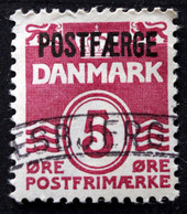 Denmark 1967  Parcel Post (POSTFÆRGE).   Minr.25 Type II   (O )  ( Lot  G 1203 ) - Paketmarken