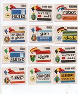 CYCLISME   TOUR DE FRANCE  12 Vignettes Sprint 1974   TBE - Ciclismo
