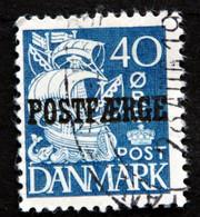 Denmark 1940  Parcel Post (POSTFÆRGE).   Minr.18 Type II   ( Lot  G 1029 ) - Paketmarken