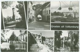 Valkenburg 1961; Groeten, Meerluik - Gelopen. (J. Waltmans - Maastricht) - Valkenburg