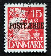 Denmark 1939  Minr.17 II    (O )( Lot  G 1027 ) - Paketmarken