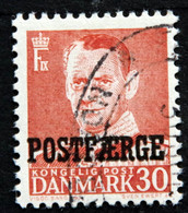 Denmark 1955 POSTFÆRGE  Minr.36     (O )( Lot  G 1073 ) - Paketmarken