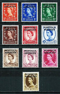 Marruecos (Británico) Nº 63/70 Nuevo - Uffici In Marocco / Tangeri (…-1958)