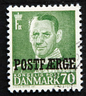 Denmark 1955 POSTFÆRGE  Minr.39     (O )( Lot  G 1077 ) - Paketmarken