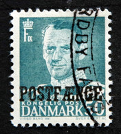 Denmark 1955 POSTFÆRGE  Minr.38     (O )( Lot  G 1122 ) - Paketmarken