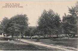 VE 17-(92) PARC DE SAINT CLOUD - PELOUSE DE COMBLEVAL - AVENUE DE LA PORTE DE GARCHES - 2 SCANS - Saint Cloud