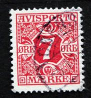 Denmark 1907  AVISPORTO MiNr. 3X  ( Lot G 1005 ) - Portomarken