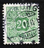 Denmark 1907  AVISPORTO MiNr. 5X  ( Lot G 992 ) - Portomarken