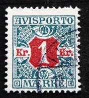 Denmark 1907  AVISPORTO MiNr. 7X  ( Lot G 986 ) - Portomarken