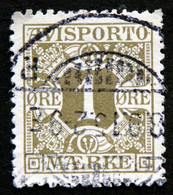 Denmark 1914  AVISPORTO MiNr. 1y  ( Lot G 1284 ) - Portomarken