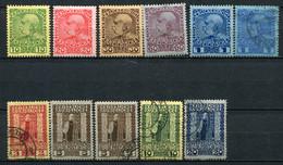 LEVANT AUTRICHIEN - Yv. N° 45 à 53 Et 48a  *  Et (o)  Cote 33  Euro   BE   2 Scans - Eastern Austria