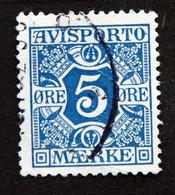 Denmark 1914  AVISPORTO MiNr. 2y  ( Lot G 1285 ) - Portomarken