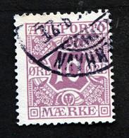 Denmark 1914  AVISPORTO MiNr.4y  ( Lot G 1287 ) - Portomarken