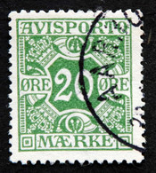 Denmark 1914  AVISPORTO MiNr.5y  ( Lot G 1288 ) - Portomarken