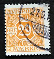 Denmark 1915  AVISPORTO MiNr.12   ( Lot G 1291 ) - Portomarken