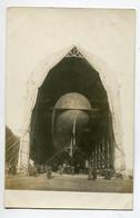 AVIATION CARTE PHOTO  Ballon Dirigeable  PATRIE  Sous Son Hangar ( à Moisson ? )  1910    D19 2021 - Airships