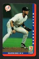 "PHONECARD 7 ELEVEN ""DEREK JETER - Yankees"" - COLLECTOR SERIES 4 OF12 - Thème Baseball - N° De Série à L'envers - Other"