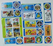 I100544 FgB - Lotto 24 Figurine Bonelli - TEX E Gli Eroi Bonelli - Bonelli