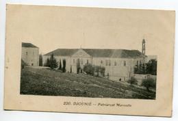 LIBAN DJOUNIE Batiments Patriarcat Maronite écrite En 1926 De Rachaya     /D19  2021 - Lebanon