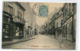 23 AUBUSSON Grande Rue Commerce Débit De Tabac1906 Timbrée No 113 Edit Aux Armes D'Aubusson    / D19  2021 - Aubusson