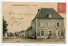 71 LESSARD En BRESSE Le Bourg Aubergiste FEVRE Les Patrons 1905 écrite Et Timbrée    /D19  2021 - Other Municipalities