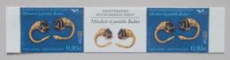 Montenegro 2021 Euromed Handgemaakte Juwelen Uit De Middelandse Zee With Vignet - Europese Gedachte