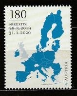 Österreich 2020 Brexit Mi 3503 ** Postfrisch - 2011-2020 Unused Stamps