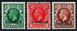 Tánger (Británico) Nº 5/7 Nuevo**/* - Uffici In Marocco / Tangeri (…-1958)
