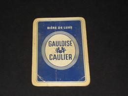 Oude Speelkaart GAULOISE Brasserie Brouwerij CAULIER - GHLIN - Other