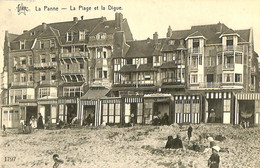 035 301 - CPA - Belgique - La Panne - La Plage Et La Digue - De Panne