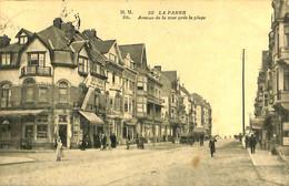 035 302 - CPA - Belgique - La Panne - Avenue De La Mer Près De La Plage - De Panne