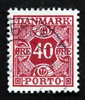 Denmark 1949 MiNr.37    ( Lot G 1314 ) - Portomarken