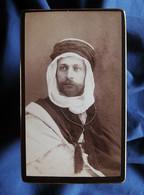 Photo CDV Jean Geiser à Alger - Mr J. Chaverot, En Costume Local, Circa 1890 L566C - Alte (vor 1900)