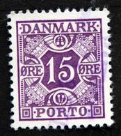 Denmark 1937 MiNr. 35  ( Lot G 1315 ) - Portomarken