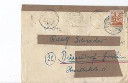 Duitsland - Bezetting Geallieerden Brief Met Michelno. 951 (3420) - Postkarten - Gebraucht