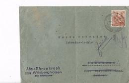 Duitsland - Bezetting Geallieerden Brief Met Michelno. 951 (3421) - Postkarten - Gebraucht
