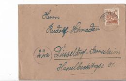 Duitsland - Bezetting Geallieerden Brief Met Michelno. 951 (3423) - Postkarten - Gebraucht