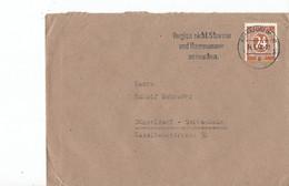 Duitsland - Bezetting Geallieerden Brief Met Michelno. 925 (3424) - Postkarten - Gebraucht