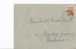 Duitsland - Bezetting Geallieerden Brief Met Michelno. 915 (3425) - Postkarten - Gebraucht