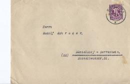 Duitsland - Bezetting Geallieerden Brief Met Michelno. 23 (3426) - Postkarten - Gebraucht