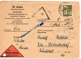 53281 - Berlin - 1960 - 50Pfg. Bauten EF A. NN-Bf. Innerhalb Von BERLIN - Briefe U. Dokumente