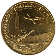 62-1955 - JETON TOURISTIQUE MDP - Le Blockhaus D'Eperlecques - 2014.5 - 2014