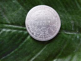 1 Mark Deutsches Reich 1875 A  Kaiserreich Orginal Echt Umlauf SILBER Zust.s.Foto  Selten - 1 Mark