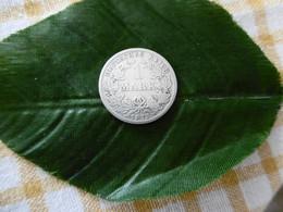 1 Mark Deutsches Reich 1875 E  Kaiserreich Orginal Echt Umlauf SILBER Zust.s.Foto  Selten - 1 Mark
