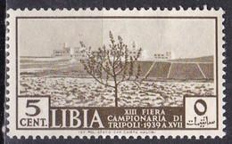 Libia, 1938 - 5c Desert City - Nr.83 MNH** - Libia