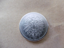 1 Mark Deutsches Reich 1875 H  Kaiserreich Orginal Echt Umlauf SILBER Zust.s.Foto  Selten - 1 Mark