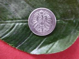 1 Mark Deutsches Reich 1876 F  Kaiserreich Orginal Echt Umlauf SILBER Zust.s.Foto  Selten - 1 Mark
